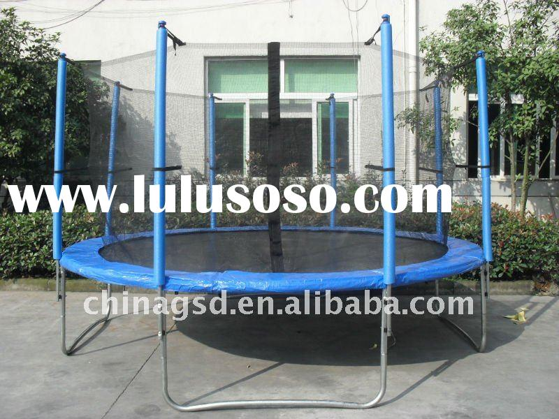 2011 GSD Fitness Trampoline,12FT Trampoline with inside safety net