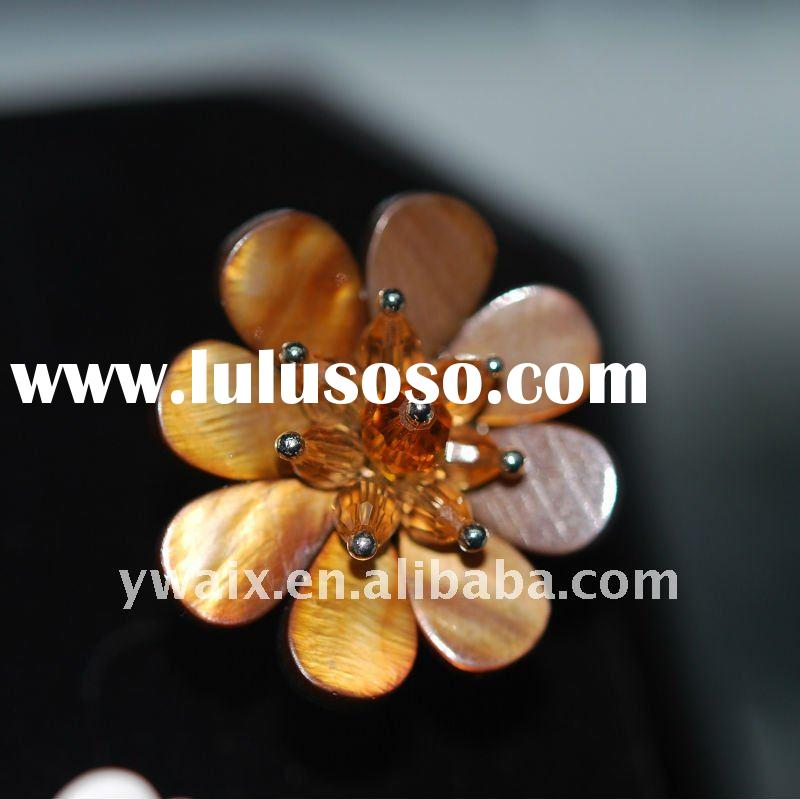 2011 Hot Selling 100% Hand Made flower ring
