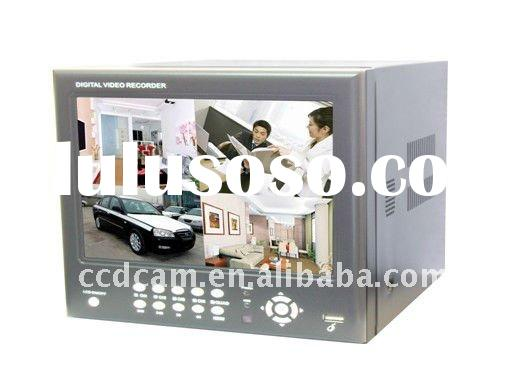 8CH H.264 DVR with 8 inch Fixed Digital TFT Monitor with real image,Mobile Surveillance, cctv standa