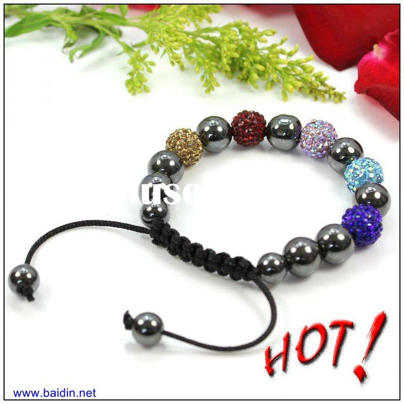 Cheap colorful shamballa bracelet wholesale