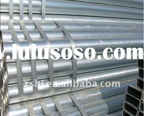 hot dip galvanized seamless steel pipe and tube
