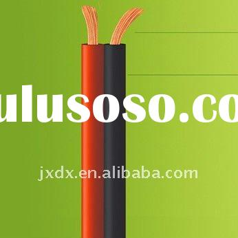 hot sell !!! CCA black/red pvc speaker cable