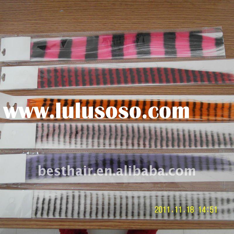 wholesale feather hair extension clip in
