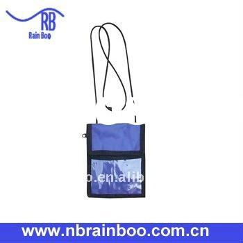 2011 hot selling new design promotional card passport bag for travel