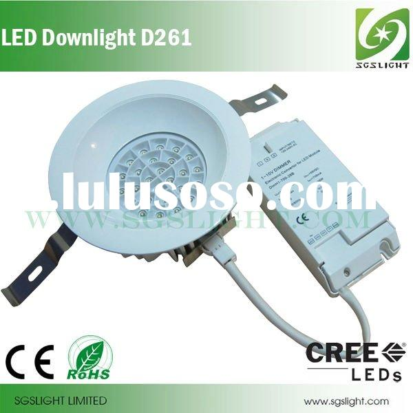26PCS Power CREE XPC LED Adopted 30W Warm White Dimmable LED Ceiling Down Light
