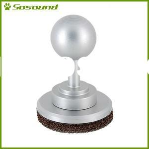 Wholesale Silver Solid Milled Aluminum Arcade Joystick for iPad 2