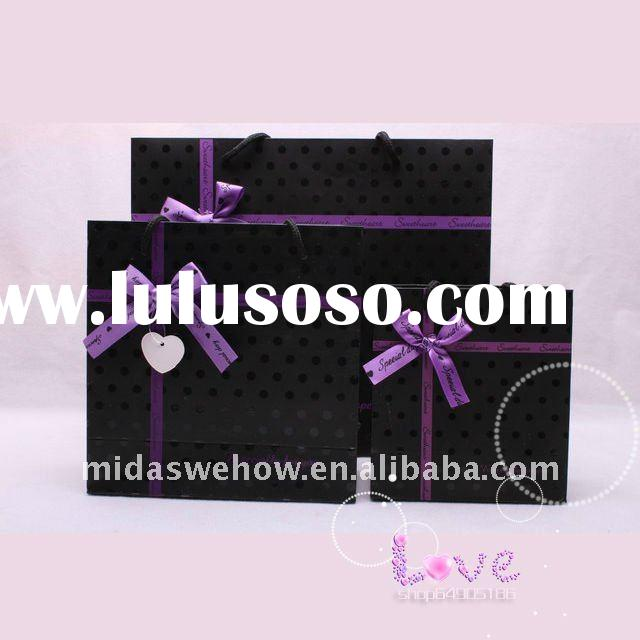 gift chocolate packaging paper bag
