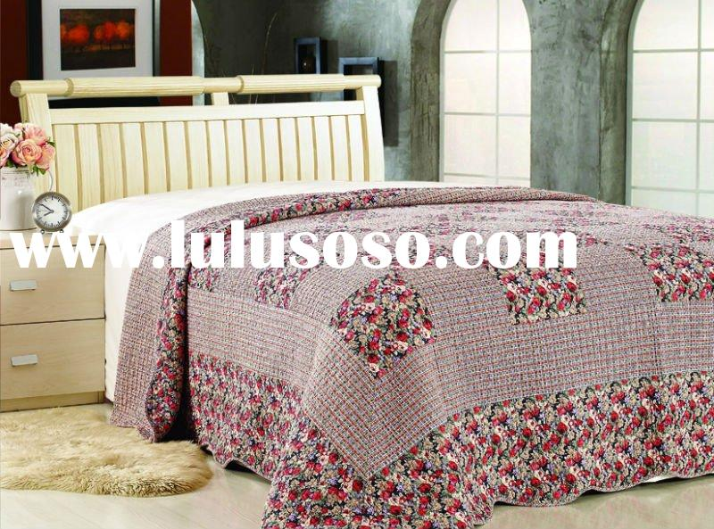 100% Cotton Washed Quilt