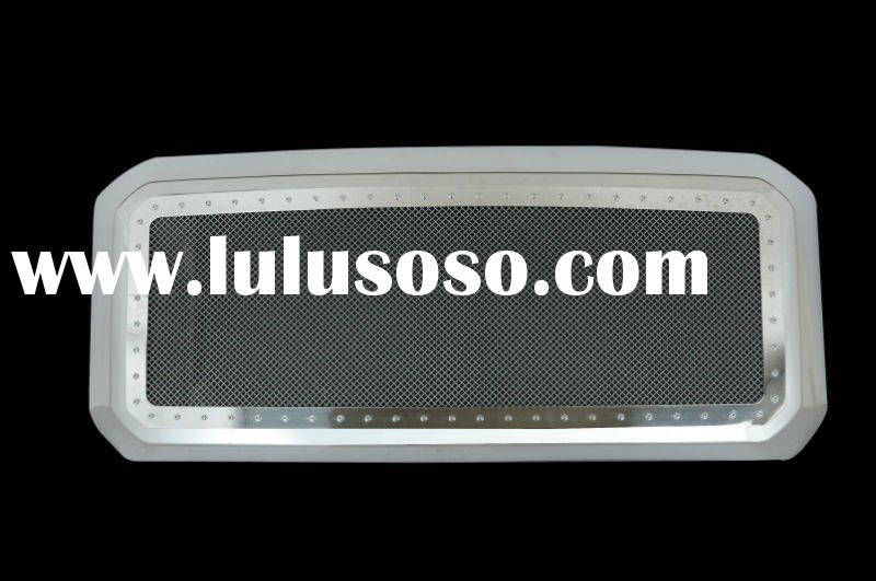 11-on Ford Super Duty Evolution All Chrome Stainless Steel Wire Mesh Packaged Grille