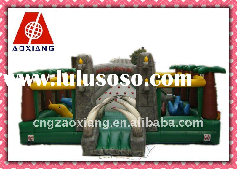 2011 hot sale Jurassic inflatable bouncy castle