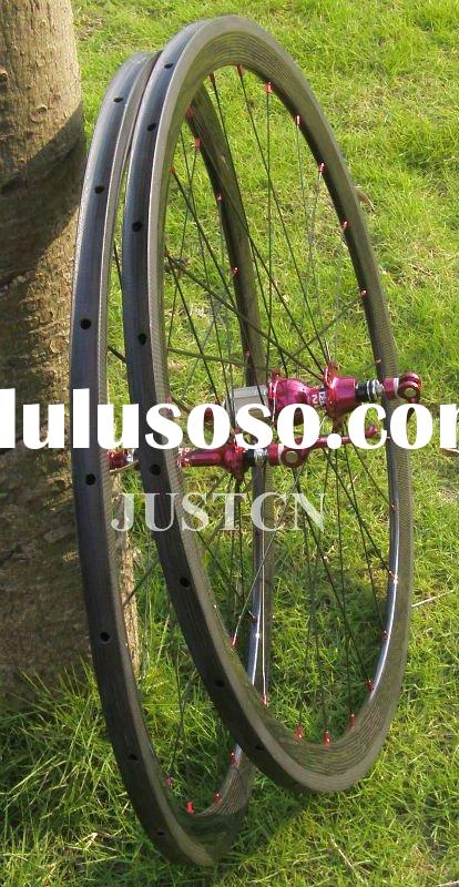 38mm Tubular Campagnolo wheelset carbon