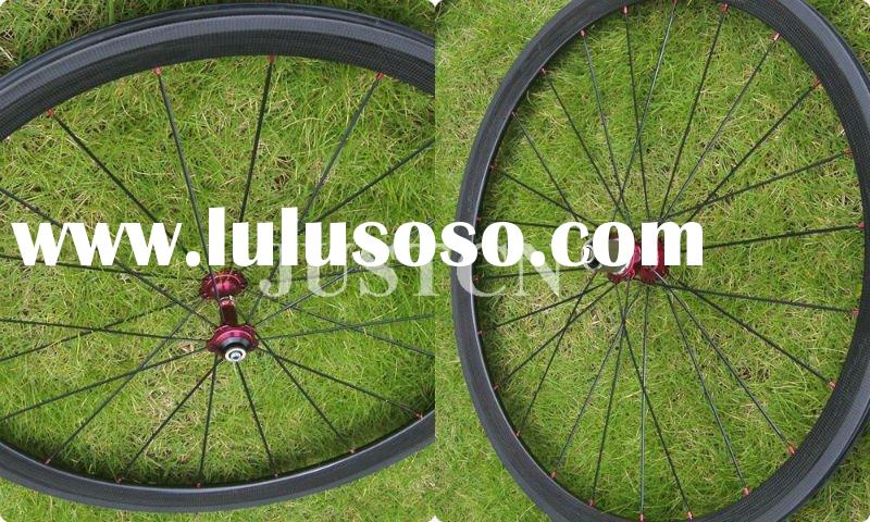38mm Wheels carbon/ carbon clincher wheelset