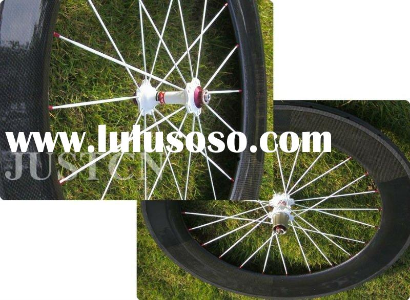 88mm Carbon bicycle wheels with Aero spoke