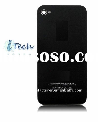 For iPhone 4 AT&T Black Back Housing Cover