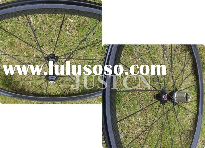 Road bike wheels 38mm tubular
