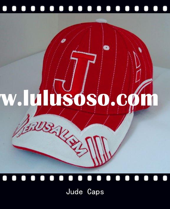 Wool blend embroidery baseball cap