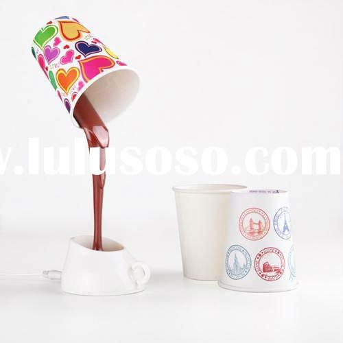 novelty DIY LED night light reading/desk lamp coffee home decoration USB+battery
