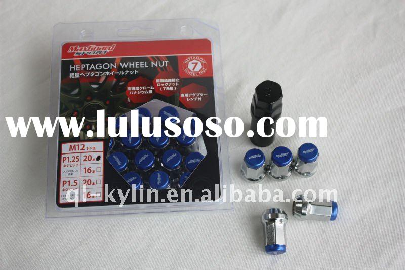 2011  NEW MAX GUARD Racing Nuts,wheel nuts,locking nuts