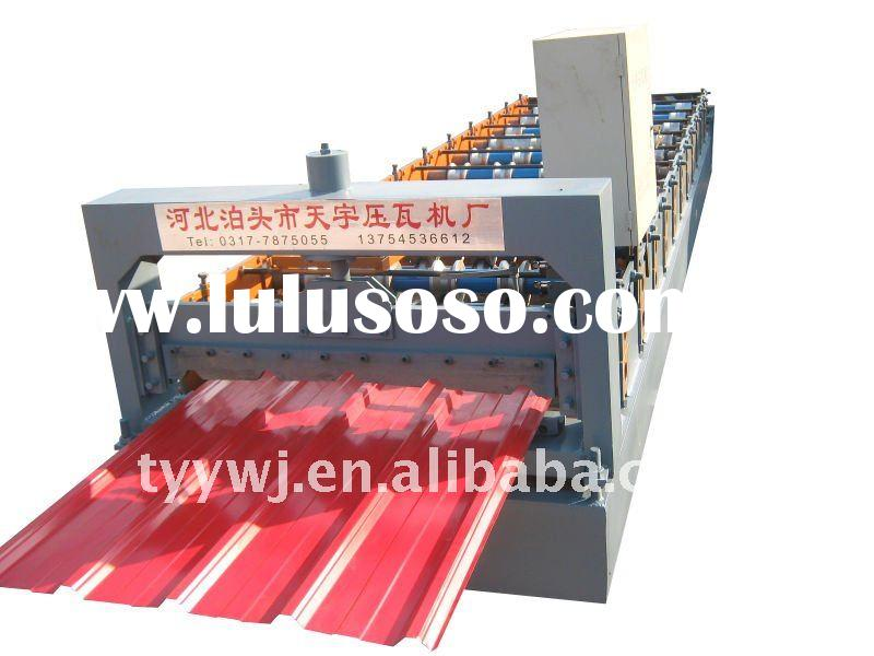 24-210-840 automatic roof panel corrugated tile forming machine