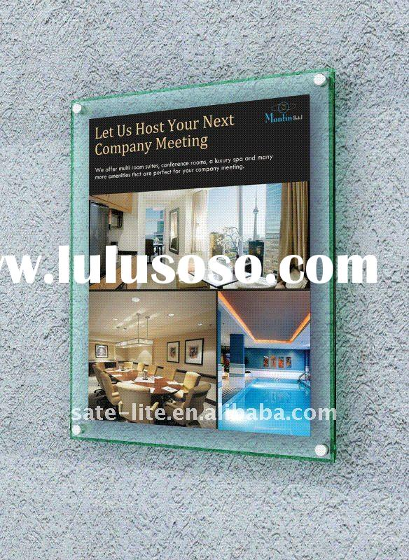 A4 clear  acrylic sign holder for 2011