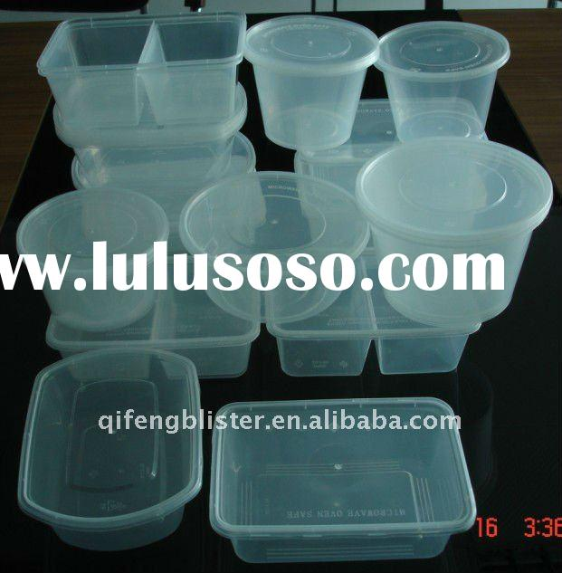 Disposable microwave Plastic food packaging box ,food packaging bowl,food box ,clamshell food contai