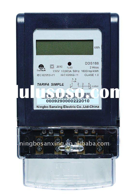 Electronic Single Phase Power Meter(LCD)