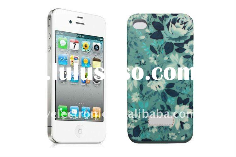High Quality IML Process Plastic Case for iPhone 4GS Case