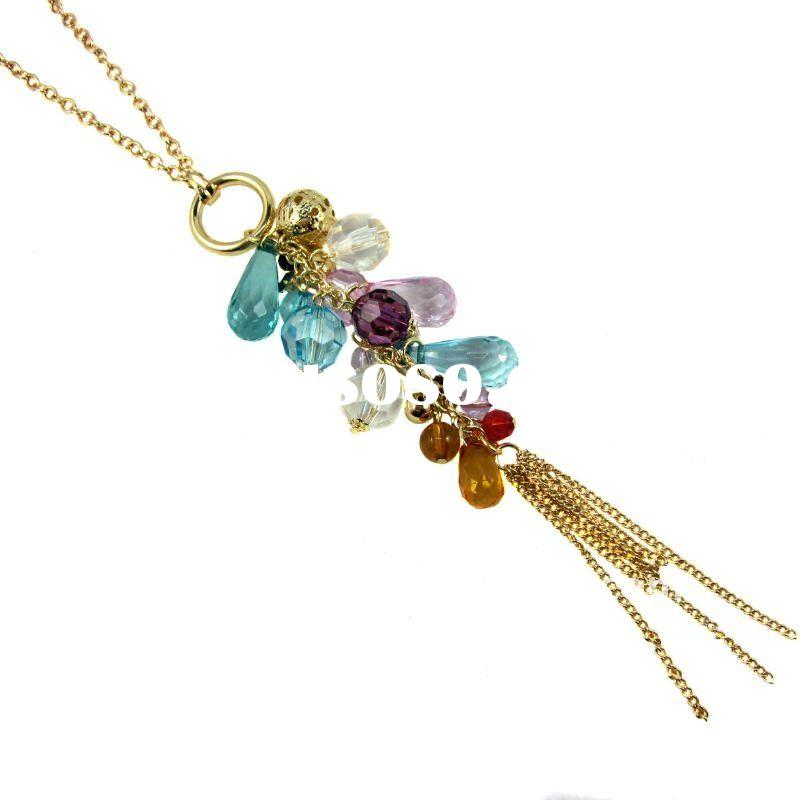 Hot Sale Bronze Plated Pendent Necklace