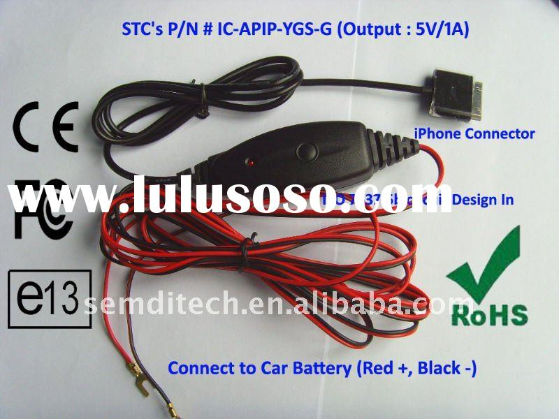 Smart Designed iPhone Car Battery Charger