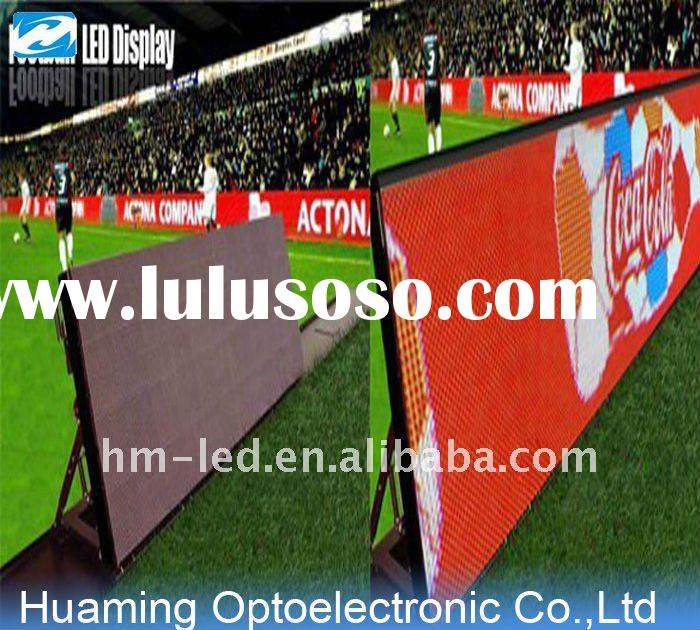 football perimeter LED display p16 full color