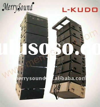 line array system, Pro audio, l-acoustics (KUDO)