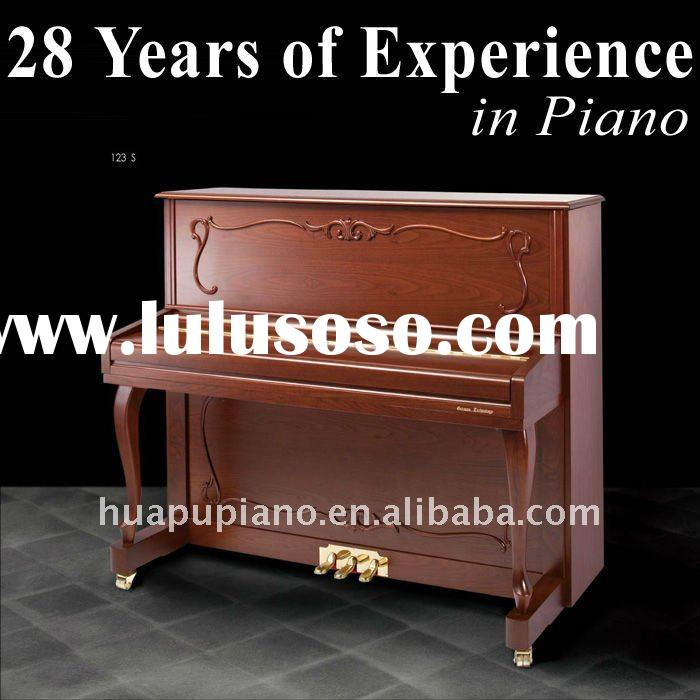 Customized! 28 Years of Experience Classical Satin Upright piano Composites shell Solid wood keyboar