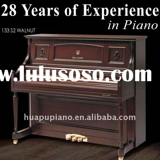 Customized! 28 Years of Experience Luxury Satin Upright piano Composites shell Solid wood keyboard G