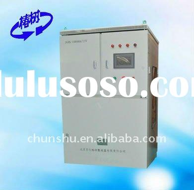 DC switching mode regulated power supply for plating, electrolysis