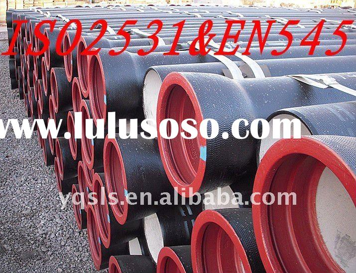 High quality Ductile Iron Pipe ISO2531 & EN545