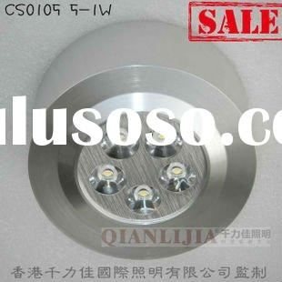 Popular 5x1w high power led ceiling light with competetive price