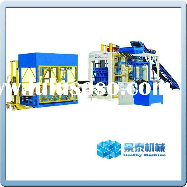 QT10-15 fully automatic concrete brick machine
