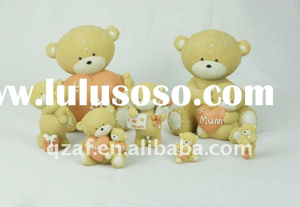 baby shower gifts (Polyresin bear decoration gift)