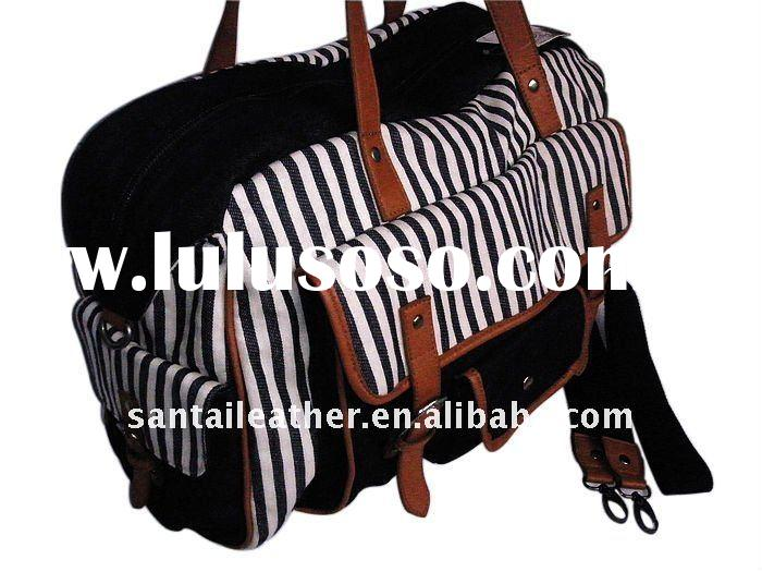 for travel hot selling large fashion canvas bag