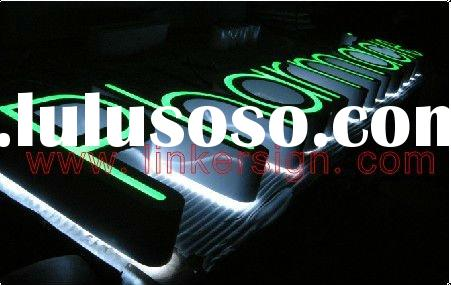 frontlit led letter signs for outdoor used