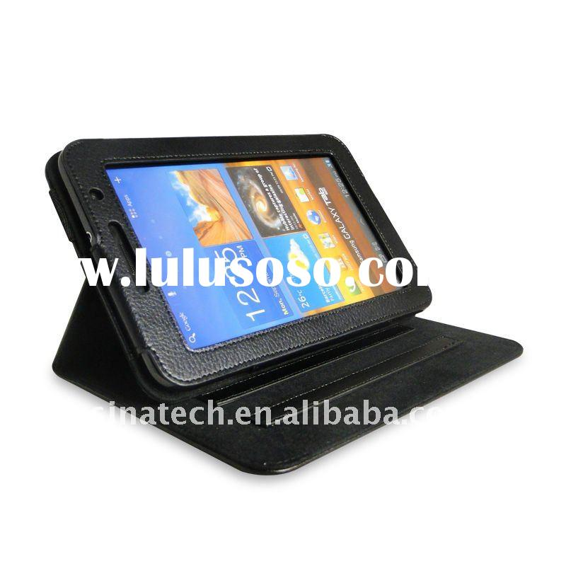 stand leather case for galaxy tab 7.0 plus