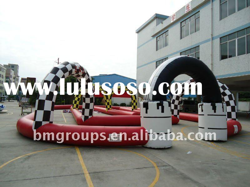 2012 Hot-selling inflatable Circuit Karts, sports game