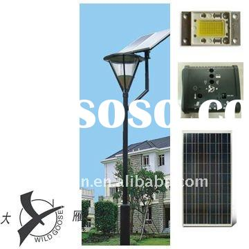 30W Solar LED Garden Light with CE,ROHS certificate.