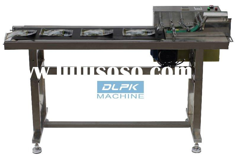 Bag/Card Split Conveying Machine for coding  Friction Type