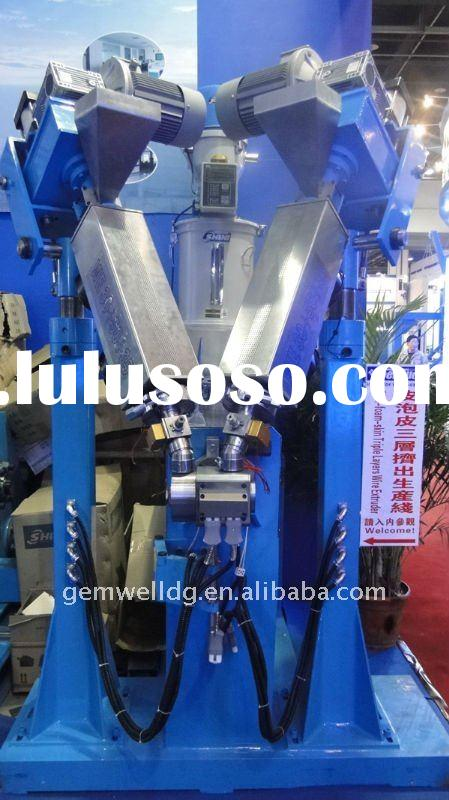 WE30+50+35 skin form skin  triple layer extruder wire and cable extrder production line