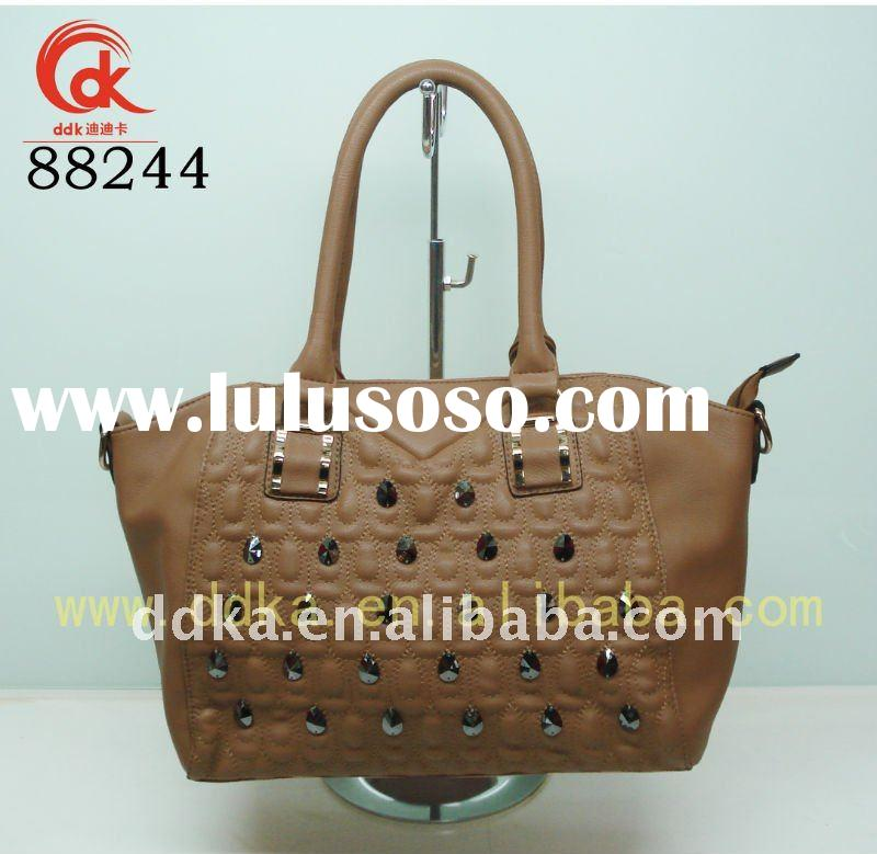 2012 new style lady leather handbags (88244)