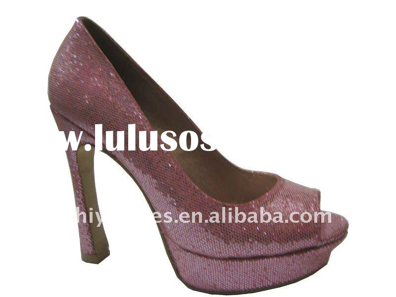 Fashion lady high heel shoes