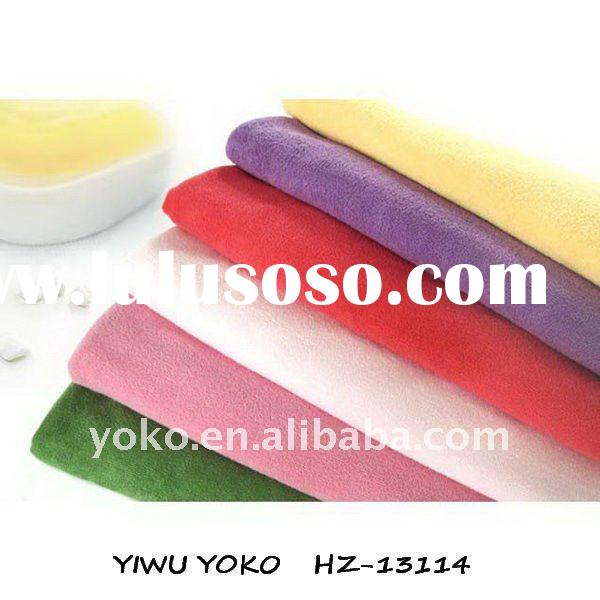 Microfiber square cleaning cloth