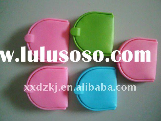 2011 fashion coin silicone wallet for gifts