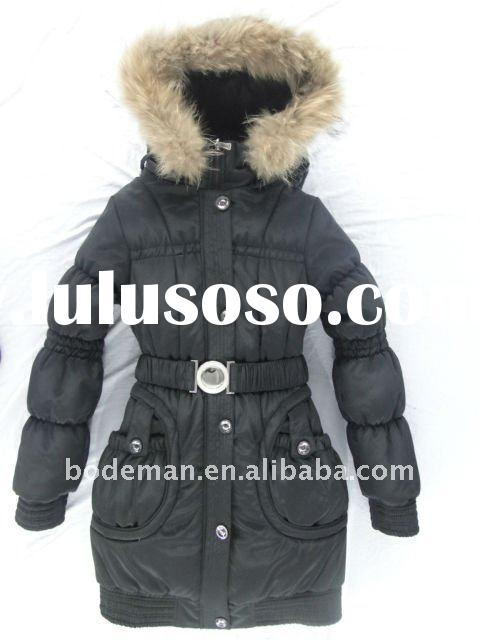 2012 fashion fur women coat